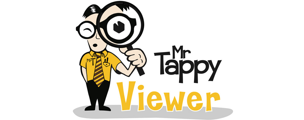 Mr. Tappy Mobile UX viewer